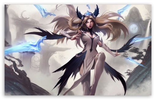 Irelia Invictus Ultra Hd Desktop Background Wallpaper For