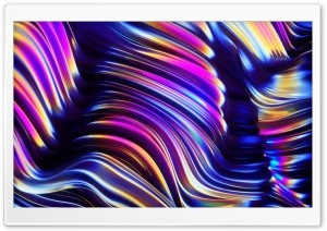 Iridescent Art Ultra HD Wallpaper for 4K UHD Widescreen desktop, tablet & smartphone