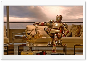 Iron Man 3 HD Wide Wallpaper For 4K UHD Widescreen Desktop Smartphone