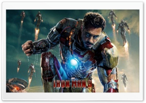 Iron Man 3 HD Wide Wallpaper for 4K UHD Widescreen desktop & smartphone