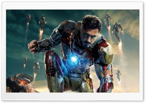 Iron Man 3 2013 Film HD Wide Wallpaper for Widescreen