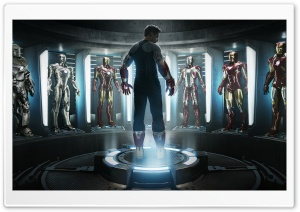 Iron Man 3 2013 Movie HD Wide Wallpaper for Widescreen