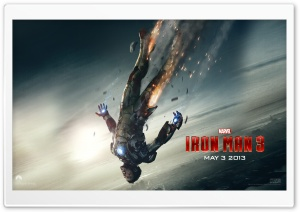 Iron Man 3 - Destinys Arrival HD Wide Wallpaper for Widescreen