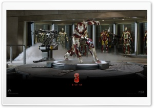 Iron Man 3 - Suit Up HD Wide Wallpaper for Widescreen