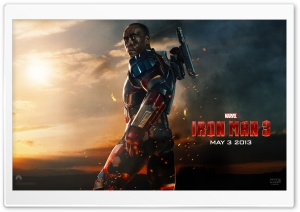 Iron Man 3 - War Machine HD Wide Wallpaper for Widescreen