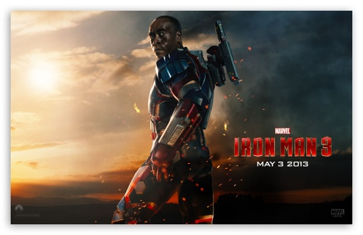 Iron Man 3 - War Machine HD wallpaper for Wide 16:10 5:3 Widescreen WHXGA WQXGA WUXGA WXGA WGA ; Mobile 5:3 - WGA ;