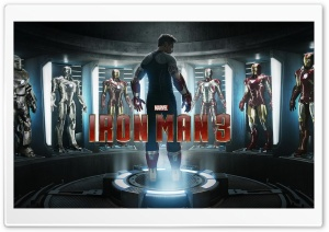 Iron Man 3 Movie HD Wide Wallpaper for Widescreen