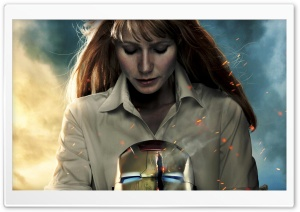 Iron Man 3 Pepper Potts Suit HD Wide Wallpaper for Widescreen