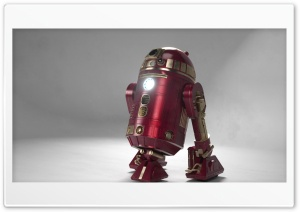 Iron Man - R2D2 HD Wide Wallpaper for Widescreen