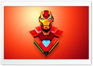 Iron Man Abstract Art HD Wide Wallpaper for Widescreen