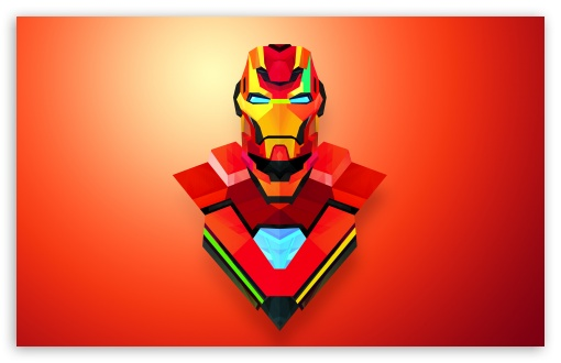 Download Iron Man Abstract Art HD Wallpaper