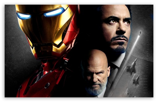 Iron Man and Obadiah Stane HD wallpaper for Wide 16:10 5:3 Widescreen WHXGA WQXGA WUXGA WXGA WGA ; HD 16:9 High Definition WQHD QWXGA 1080p 900p 720p QHD nHD ; Standard 3:2 Fullscreen DVGA HVGA HQVGA devices ( Apple PowerBook G4 iPhone 4 3G 3GS iPod Touch ) ; Mobile 5:3 3:2 16:9 - WGA DVGA HVGA HQVGA devices ( Apple PowerBook G4 iPhone 4 3G 3GS iPod Touch ) WQHD QWXGA 1080p 900p 720p QHD nHD ;