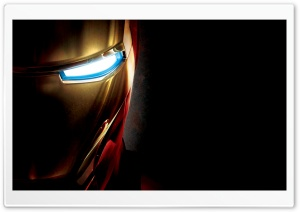 Iron Man Eye HD Wide Wallpaper for Widescreen