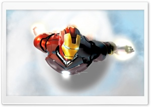 Iron Man In Flight HD Wide Wallpaper for Widescreen