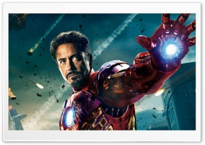 Iron Man In The Avengers Movie HD Wide Wallpaper for Widescreen
