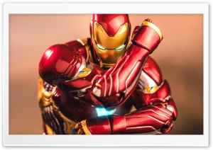 Iron Man statue Ultra HD Wallpaper for 4K UHD Widescreen desktop, tablet & smartphone