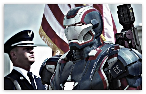 Iron Patriot In Iron Man 3 ❤ 4K UHD Wallpaper for Wide 16:10 5:3 Widescreen WHXGA WQXGA WUXGA WXGA WGA ; 4K UHD 16:9 Ultra High Definition 2160p 1440p 1080p 900p 720p ; Standard 3:2 Fullscreen DVGA HVGA HQVGA ( Apple PowerBook G4 iPhone 4 3G 3GS iPod Touch ) ; Tablet 1:1 ; Mobile 5:3 3:2 16:9 - WGA DVGA HVGA HQVGA ( Apple PowerBook G4 iPhone 4 3G 3GS iPod Touch ) 2160p 1440p 1080p 900p 720p ;