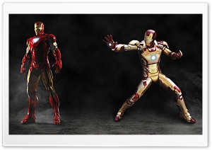 Iron Suits HD Wide Wallpaper for Widescreen