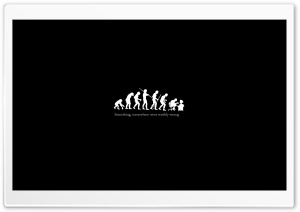 Ironic Evolution HD Wide Wallpaper for Widescreen