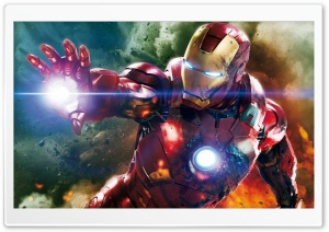 IronMan HD Wide Wallpaper for Widescreen