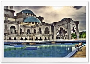 Islamic Architecture HD Wide Wallpaper for Widescreen