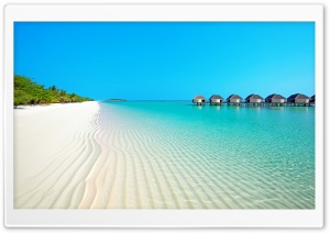 Island Beach HD Wide Wallpaper for Widescreen