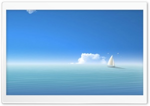 Island Boat HD Wide Wallpaper for Widescreen