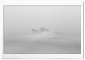 Island, Frozen Water, Fog, Winter Ultra HD Wallpaper for 4K UHD Widescreen desktop, tablet & smartphone