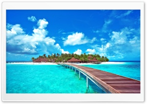 Island Paradise HD Wide Wallpaper for Widescreen