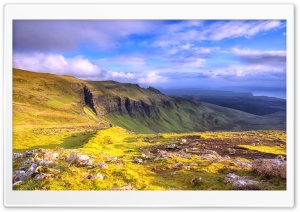 Isle Of Skye Panoramic View HD Wide Wallpaper for 4K UHD Widescreen desktop & smartphone