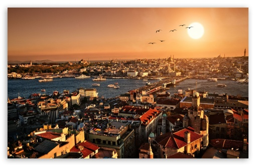 Istanbul 4k Hd Desktop Wallpaper For 4k Ultra Hd Tv