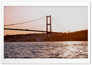 Istanbul Bridge HD Wide Wallpaper for 4K UHD Widescreen desktop & smartphone