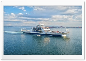 Istanbul Ferry HD Wide Wallpaper for Widescreen