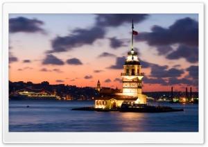 istanbul  kz kulesi Ultra HD Wallpaper for 4K UHD Widescreen desktop, tablet & smartphone