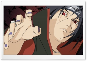 Itachi Uchiha HD Wide Wallpaper for Widescreen