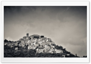 Italian Hill Landscape HD Wide Wallpaper for Widescreen
