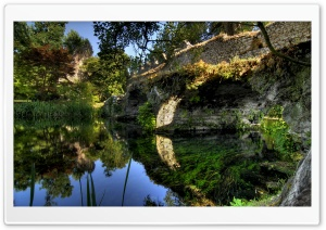 Italian Old Bridge HD Wide Wallpaper for Widescreen