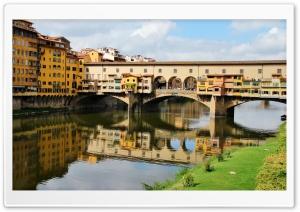Italy Bridges Toscana Firenze Ponte Vecchio Ultra HD Wallpaper for 4K UHD Widescreen desktop, tablet & smartphone