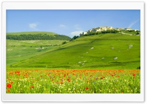 Italy Hills HD Wide Wallpaper for 4K UHD Widescreen desktop & smartphone