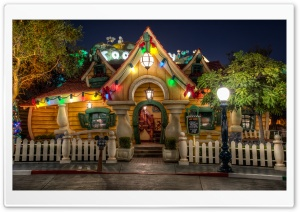 It's Already Christmas at Mickey's House HD Wide Wallpaper for Widescreen