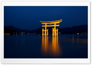 Itsukushima Shrine HD Wide Wallpaper for 4K UHD Widescreen desktop & smartphone