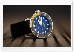 IWC Aquatimer 2000 HD Wide Wallpaper for Widescreen