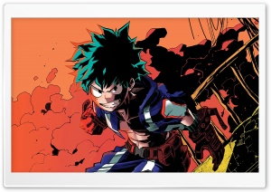 Izuku Midoriya HD Wide Wallpaper for 4K UHD Widescreen desktop & smartphone