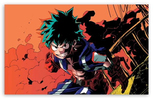 Izuku Midoriya Ultra Hd Desktop Background Wallpaper For 4k