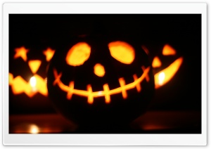 Jack-o'-lantern HD Wide Wallpaper for Widescreen
