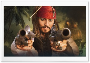 Jack Sparrow HD Wide Wallpaper for Widescreen