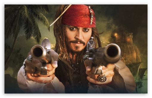 Jack Sparrow 4k Hd Desktop Wallpaper For 4k Ultra Hd Tv Tablet