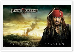 Jack Sparrow - 2011 Pirates Of The Caribbean On Stranger Tides Ultra HD Wallpaper for 4K UHD Widescreen desktop, tablet & smartphone