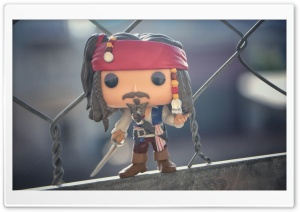Jack Sparrow - Funko Pop Figure HD Wide Wallpaper for 4K UHD Widescreen desktop & smartphone
