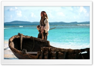 Jack Sparrow   Pirates Of The Caribbean On Stranger Tides HD Wide Wallpaper for Widescreen